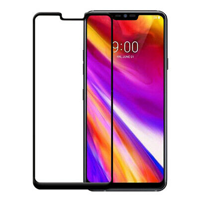 1/2x Gorilla Curved Tempered Glass Screen Protector Guard Shield For LG G7 ThinQ
