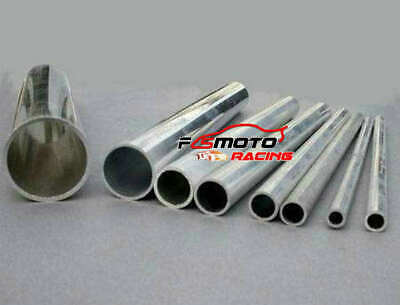 "ALL Thick 6063 Aluminium Round Tube Straight hollow Pipe 300mm 12"" DIY Boat/Car"