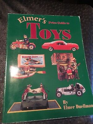 ELMER'S PRICE GUIDE TO TOYS, By Elmer Duellman