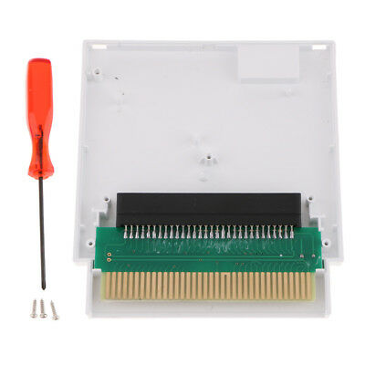 Adaptor Converter Famicom 60 to 72 Pin Compatible for NES Game Console White
