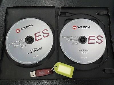Wilcom Professionell Stickereien Studio Software ES65 2006 pro Arbeiten 016-001