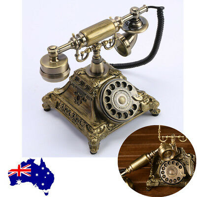 Vintage Phone Retro Handset Old European Style Telephone Home/Office AU