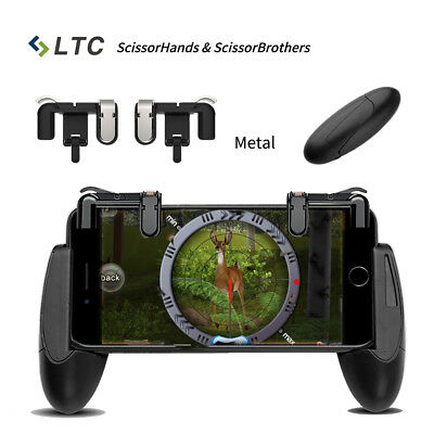Metall Mobile Game PUBG Trigger Controller L1R1 Shooter Messer OUT Android IOS