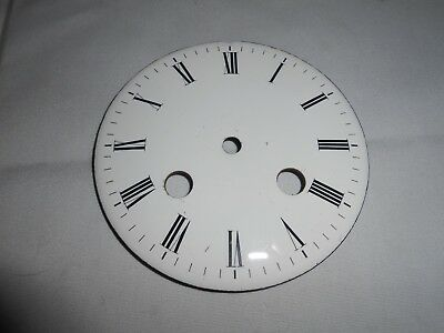 Antique French Strike White Enamel Dial 9.7 Cms Please See Photo's For Condition