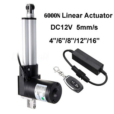 6000N Linear Actuator 12V 100-400mm + Remote Controller for Dental Medical Chair