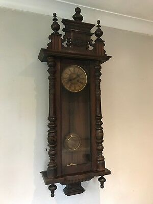 Vintage Antique American Wall Clock