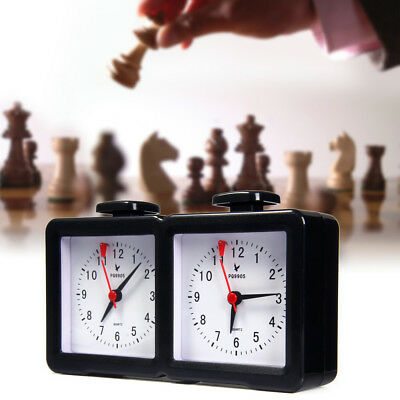 LEAP PQ9905 Quarz Analog Chess Clock I-go Count Up Down Timer for Chess Game