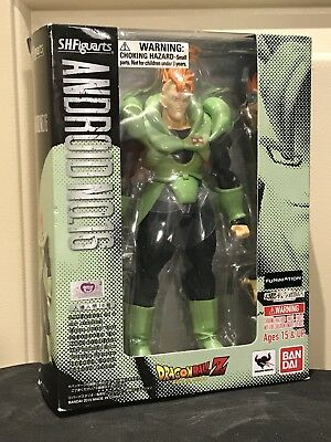 Android 16 Dragon Ball Z DBZ Bandai Tamashii Nations SH Figuarts Action Figure