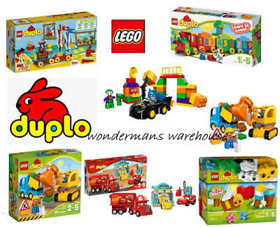 Lego Duplo Construction Play Sets - Cars/Batman & More - Brand New & Boxed