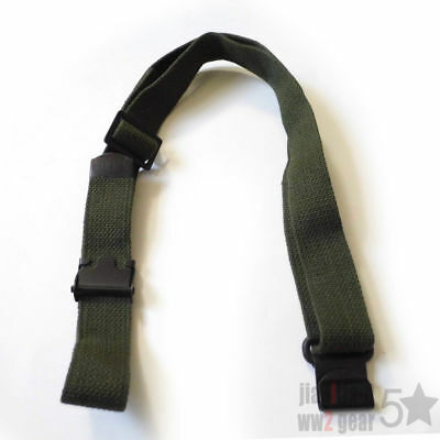 Original Wwii Ww2 Us Army M1 Garand Sling Rifle Gun Strap Green