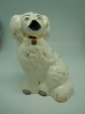 Vintage porcelain Beswick Spaniel dog- Right side of a pair No 1378-5