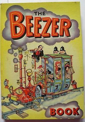 The Beezer Book Annual 1962 Vintage Hardback Good Condition