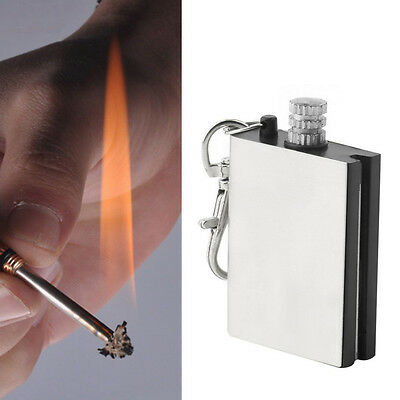 2X Emergency Fire Starter Flint Match Lighter Outdoor Campings Survival Tools RS