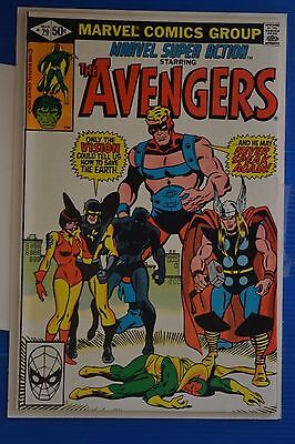 Marvel Super-Action # 29 {Avengers # 68} : Very Fine/near Mint: March 1981