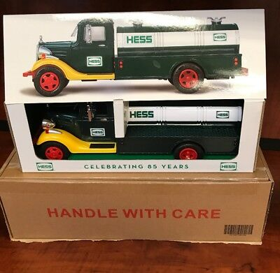 2018 Hess Truck Very Limited Special Edition 85Th Anniversary Sealed Box Free Sh