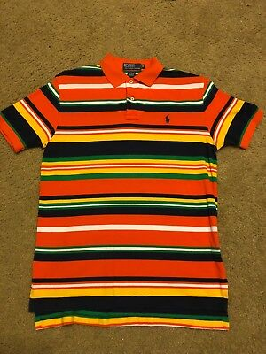 Polo by Ralph Lauren Multi-Colored Medium, Mint Condition