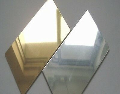 Silver & Gold acrylic A4 sheets 3mm thick, **** fast delivery *****