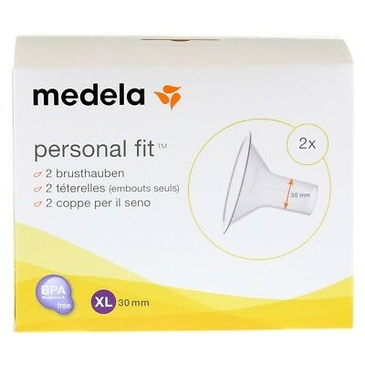 Medela Personal Fit Breast Shields, Size XL, Twin Pack, New