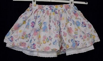 Baby Girls George Disney Minnie Mouse Rainbows Holidays Skirt Age 12-18 Months