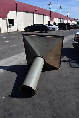 """12"""" Duct Air Ventilation Hood Laboratory Furnace Lab Fume 51"""" x 51"""" Commerical"""