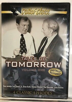 Tales Of Tomorrow - Volume 1 (DVD, 2004) Paul Newman *Brand New* *Free Shipping*