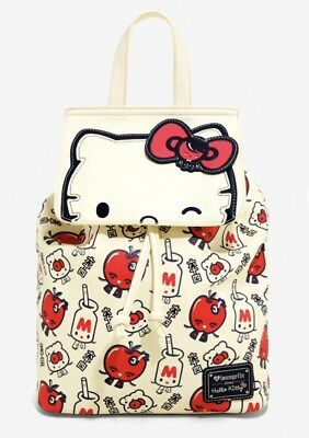 LOUNGEFLY SANRIO Hello Kitty Big Face Backpack -  40.00   PicClick 6b697cd9df