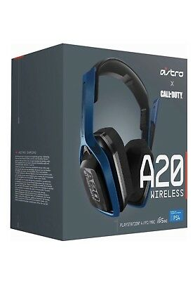 Astro Gaming-A20 Call Of Duty Wireless Gaming Headset For PS4/PC/Mac -Navy
