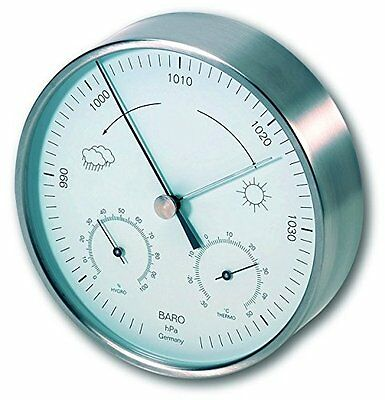 TFA Steel Indoor Weather Station Dial -  Free Shipping