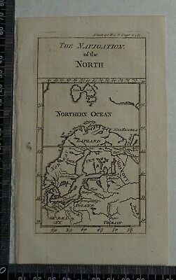 1776 Pluche - Engraving of The Navigation of the North
