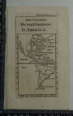 1776 Pluche - The Colonies of the Europeans in America