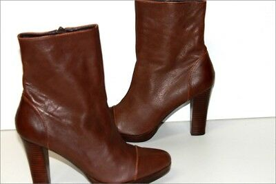 ESPRIT BOTTINES & low Stiefel Stiefel low à talons Cuir Marron T 38 bottines cuir dd0630