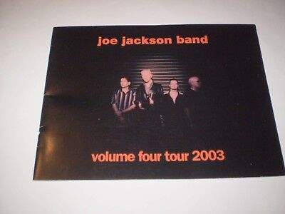 Joe Jackson Band - Tour Programme 2003