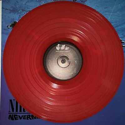 Nirvana - Nevermind 180g Red Colored Vinyl LP  New