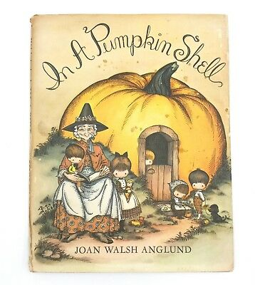 In A Pumpkin Shell Vintage First Edition Dust Jacket Book By Joan Walsh Anglund