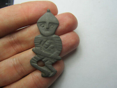 Ancient God Warrior with sword . Metal detector finds  100% original