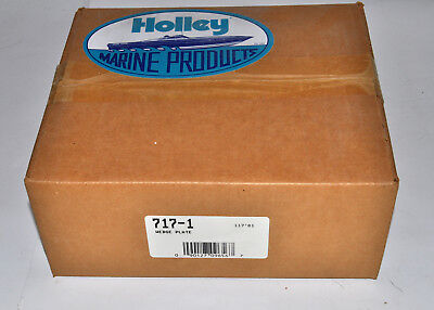 """Holley Wedge Plate 7""""Alum 1""""Thick Square Bor Flange Base Insulator Part# 717-1"""