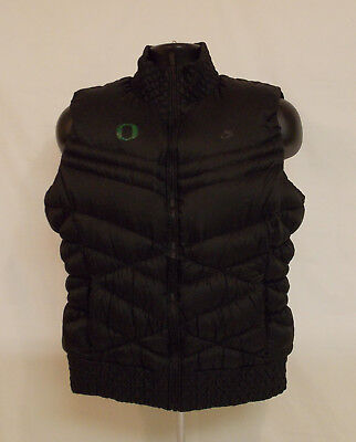 Oregon DUCKS Nike Cascade DOWN FILLED Quilted Puffer VEST Zip Up Women's XL
