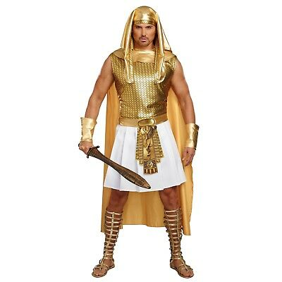Ramses Adult Costume-Men XX-Large-Gold by Dreamgirl