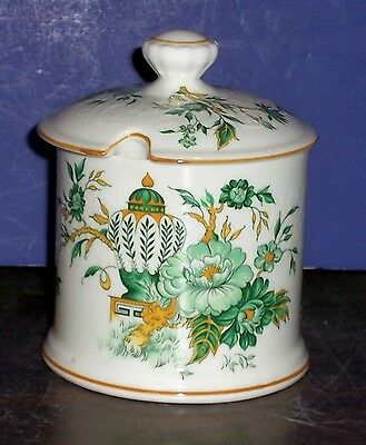 "Crown Staffordshire Kowloon Sugar Bowl 4""  Never Used"