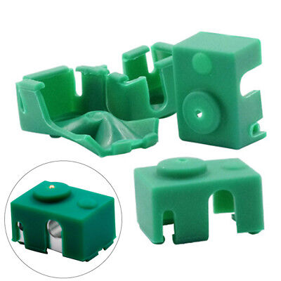 Silicone Sock for V6 Hot End Heater Block Insulation Cover Through Hole  SG