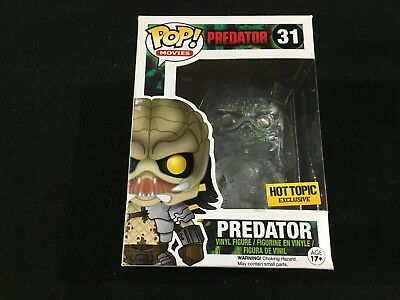 Movies Predator Clear Bloody #31 Hot Topic Exclusive Funko Pop Brand New