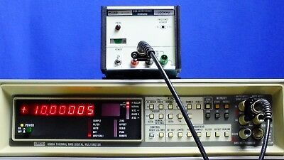 FLUKE 510A 10V 100KHz AC Reference Standard Calibrator TESTED for Accuracy