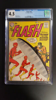 The Flash 109 CGC 4.5  10/59 DC 2nd App Of Mirror Master