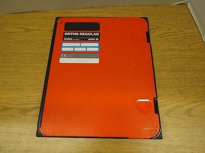 AGFA ORTHO REGULAR Curix screens radiographic cassette 9x11