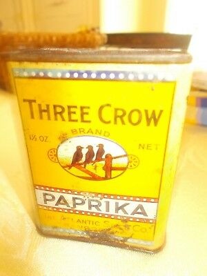 Three Crow Paprika from Atlantic Spice Co., Rockland Maine.