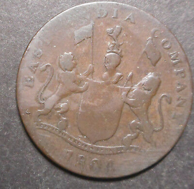 I East India Company Sumatra 1804 4 kelpings  Coin