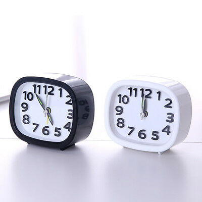 Analog Alarm Clock Vintage Retro Classic Bedroom Bedside Home Office Decoration