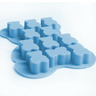 SILICONE TEDDY BEAR SOAP MOULD Small Smelly Candle Making Bath Shower Mold