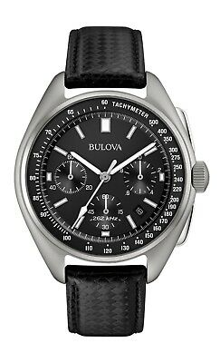 Bulova Men's 96B251 UHF Chronograph Quartz Leather Strap 45mm Watch