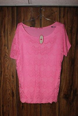 Women's Pink Skirt & Top Ensemble - Size Medium - New With Tags